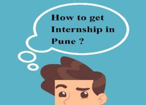 How to get internship in pune?