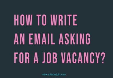 How to Write an Email Asking for a Job Vacancy